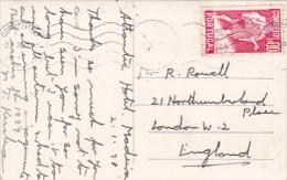 Portugal 1939 Postcard Sent To England - Postal Stationery