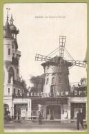 PARIS - Le Moulin Rouge - Cafés, Hotels, Restaurants