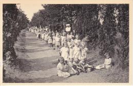 Ravels. -  Open-Lucht-school Voor Zwakke Meisjes; Dreef Naar De Kinderlust - Ravels