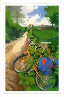Carte Publicitaire - Le Siècle Au Fil Du Timbre - Un Siècle De Transport Illustré Par Daphné Lisse - La 2 CV - Postal Services