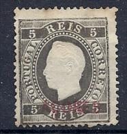 131007272  AZORES C.PORT.  YVERT Nº  17B  */MH - Azores