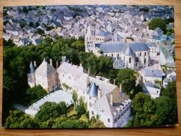 45 : Meung-sur-Loire - Le Château , L'Eglise Et Vue Générale - Plan Inhabituel - (n°903) - Otros Municipios