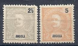 131007296  ANGOLA  C.PORT.  YVERT  Nº  38/9  */MH - Angola