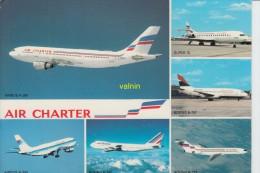 Flotte Utilisée Par Air Charter Filiale D Air France Et D Air Inter - 1946-....: Moderne