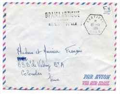 FM Cad Recette Auxiliaire LARTIGUE ORAN + Cachet BPAN LARTIGUE Agence Postale / 10 Nov 1961 - Marcophilie (Lettres)