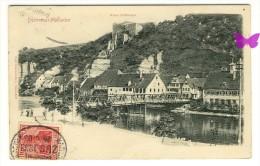 DÜRRMENZ - MÜHLACKER - Ruine Löffelstelz - Carte Relief - Mühlacker