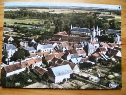 45 : Huisseau-sur-Mauves - Vue Panoramique Aérienne - Colorisée - Plan Inhabituel - (n°912) - Autres Communes