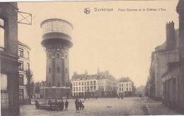 59 - Dunkerque - PLace Calonne Et Le Château D'Eau (animation) - Dunkerque