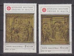 PGL BT042 - SMOM ORDRE DE MALTE SASSONE N°161/62 ** - Sovrano Militare Ordine Di Malta