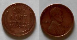 1 Pièce 1 C 1913 Liberty En TBE - 1909-1958: Lincoln, Wheat Ears Reverse