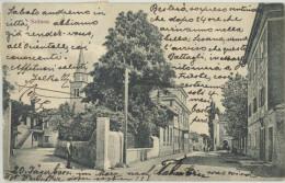 SESANA SEZANA (annullo Ing. Silvio Dragomir) 1910 - Slovenia