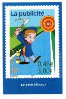 Carte Publicitaire - Le Siècle Au Fil Du Timbre - La Communication - Postal Services