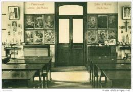 Sint-Maria-Lierde Pensionnat Lierde-Sainte-Marie : Studiezaal - Salle D'études - Lierde