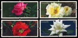 Canada (Scott No.1911-14 - Roses) (o) Série / Set - 1952-.... Règne D'Elizabeth II