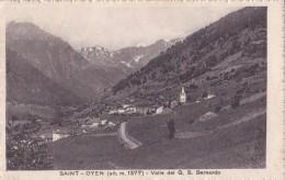 SAINT OYEN  - VELLE DEL G. S. BERNARDO VG AUTENTICA 100% - Andere Steden