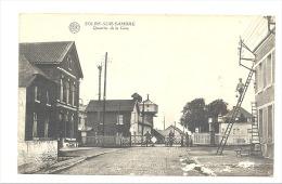 SOLRE - SUR - SAMBRE - Qartier De La Gare - Passage à Niveau- Peintre   (1882)sf83 - Erquelinnes