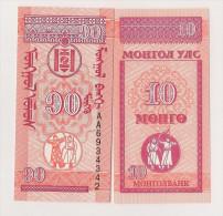MONGOLIE / MONGOLIA - 10 MONGO 1943 - Mongolia