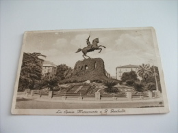 La Spezia Giardini V. Emanuele  E  Monumento A Giuseppe Garibaldi - La Spezia