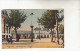 Montluçon  La Gare Vue De La Cour Extérieure - Montlucon