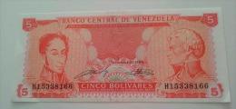 5 Bolivares 1989 XF - Venezuela