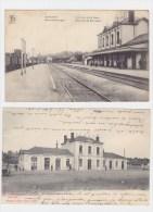 Geraardsbergen(Grammont)Station Gare (lot 2 Kaarten) - Belgique