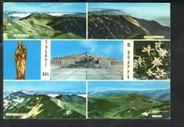 L53 Saluti Dal M. Grappa - Vedute: Ossario, Nave E Osservatorio, Valle Sole, Archeson E Piave, M. Pertica - Used 1967 - Italia