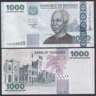 Tanzania, 1000 Shilingi, 2003, UNC. P,36. Julius K. Nyerere. - Tanzania
