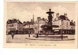 77------MELUN----la Place Saint-jean---voir 2 Scans - Melun
