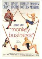 MARILYN MONROE - Classicos Cinema 237 Monkey Business - Actors