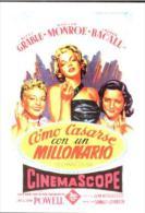 MARILYN MONROE - Classicos Cinema Attribué 256 Como Casarse Con Un Millonario - Acteurs