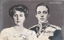 REY REINE FAMILLE ROYALE ROI ET REINE D'ESPAGNE ESPANA SPANIENS KÖNIGSPAAR - Familias Reales