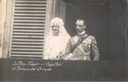 PRINCIPESSA YOLANDA DE SAVOY ET IL CONTE CALVI DI BERGOLO MATRIMONIO 1929 AL BALCONE DEL QUIRINALE ROMA FAMIGLIA REALE - Case Reali
