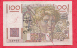 France 1 Billet Du 19/12/1946  état - 100 F 1945-1954 ''Jeune Paysan''