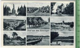 Gruß Aus Dem Sennelager Um 1930/1940 Verlag: Hermann Lorch Nr. 9678, Dortmund, POSTKARTE Erhaltung: I-II Karte Wird In K - Weltkrieg 1939-45