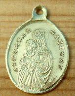 Med-3265Médaille Ancienne En Laiton Inscriptions Asiatiques - Religione & Esoterismo
