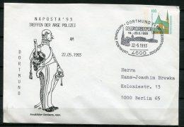 """Germany 1993 Privatganzsache/ Cover Preußischer Gendarm Mit SST""""4600 Dortmund-NAPOSTA """"1 Beleg - Privatpostkarten - Gebraucht"""