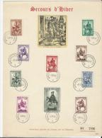 Belgique:583/ 592 Sur 2  Feuillets Souvenir - Feuillets