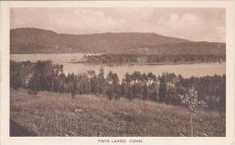 Connecticut Canaan Twin Lake Albertype