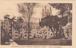Connecticut New Haven Branford Court Toward Wrexham Tower Yale U