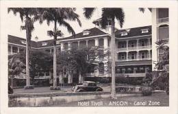 Panama Canal Zone Ancon Hotel Tivoli 1946 Real Photo RPPC