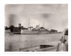 """Original Foto - SWINEMÜNDE - Seedienst Ostpreußen - Dampfer """"Kaiser""""  1930er Jahre   11,5 X 8,5 Cm - Boten"""
