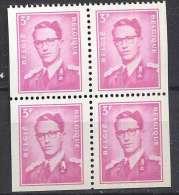 Belgique COB 1485 Et 1485a En Bloc ** - Markenheftchen 1953-....