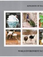 Bahrain 2003 Birds  Block /4 - World Envernment Day-  MNH - Bahrain (1965-...)