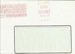 Lettre EMA Secap N Ne Vous Laissez Pas Envahir Desherbage Industriel Cereale  Agriculture Chimie L4/31 - Marcophilie (Lettres)