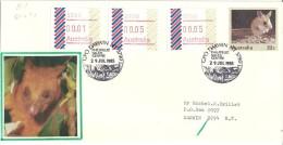 AUSTRALIE.Faune Du Territoire Du Nord (Northern-Territory) Rongeur Notomys Alexis, Timbres  ATM-FRAMA 1985 - ATM - Frama (vignette)