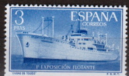 España 1191 ** Ciudad De Toledo. 1956 - 1951-60 Nuevos & Fijasellos
