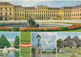 ZS41739 Wien Schloss Schonbrunn   2 Scans - Château De Schönbrunn