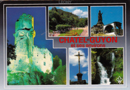 CPM  De CHATELGUYON   (63) - Vues Diverses - - Châtel-Guyon