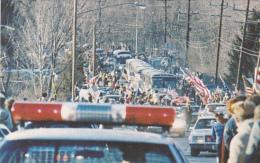 Welcome Home Parade Iranian Hostages january 25, 1981 Windsor Ne