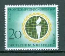 BERLIN - Mi-Nr. 177 - Welt-Frontkämpfer Kongreß Berlin Postfrisch - Ungebraucht
